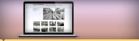 Diseño web Portafolio fotógrafo